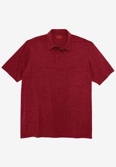 Heavyweight Jersey Polo Shirt,
