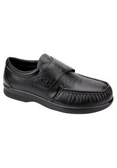 Propét® Pucker Moc Strap Casual Shoes, BLACK, hi-res
