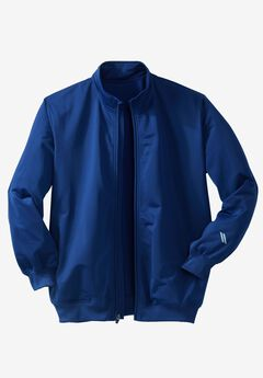 Track Jacket by KS Sport™ , MIDNIGHT NAVY, hi-res