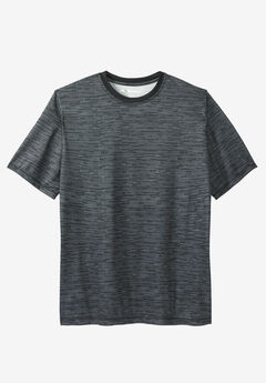 Crewneck Tee by KS Sport™, STEEL, hi-res