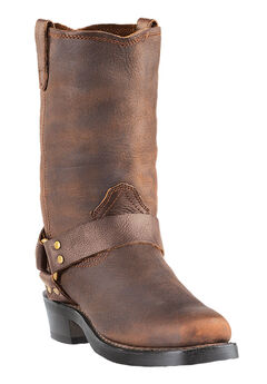 Dingo 11' Harness Boots, BROWN, hi-res