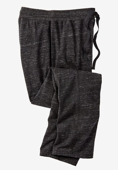 Hanes® Lounge Pants, BLACK HEATHER, hi-res