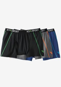 Power Cool Boxer Brief 3-Pack by KS Sport™,
