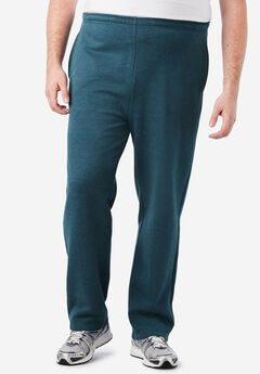 Fleece Open-Bottom Pants,