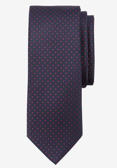 Extra Long Polka Dot Tie, RED POLKA DOT, hi-res
