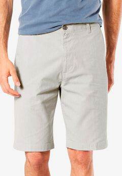 Classic Fit Perfect Shorts by Dockers®, PORCELAIN KHAKI TWILL, hi-res