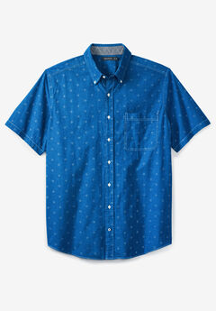 Printed Chambray Woven Shirt by Nautica®,