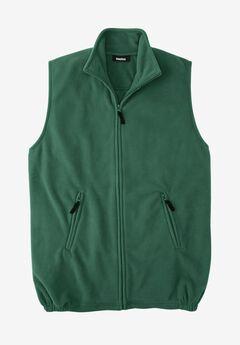 Explorer Fleece Zip Vest, HUNTER, hi-res
