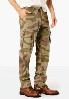 Straight Utility Cargo Pants by Dockers®, CAMO, hi-res