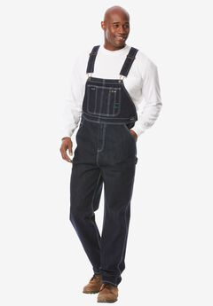 Denim Overalls by Boulder Creek®, DARK INDIGO