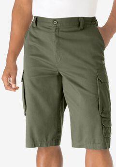 14' Cargo Shorts, OLIVE, hi-res