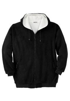 Explorer Fleece Full-Zip Hoodie, BLACK, hi-res