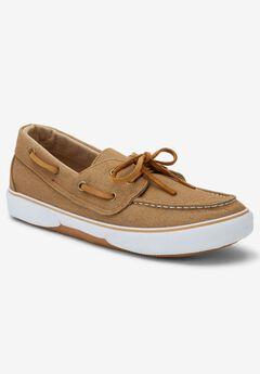 Canvas Velcro® Boat Shoe,