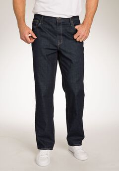 Loose Fit 5-Pocket Stretch Jeans by Liberty Blues®,