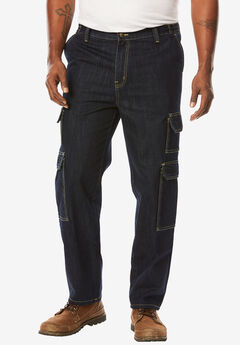 Side-Elastic Cargo Pants by Boulder Creek®,