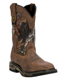 Dan Post Hunter Camo Shaft Soft Toe Boot,