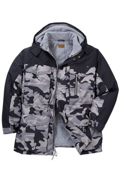 Boulder Creek® Colorblock Hooded Parka,