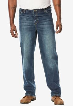 Relaxed Fit Carpenter Jeans by Boulder Creek®,