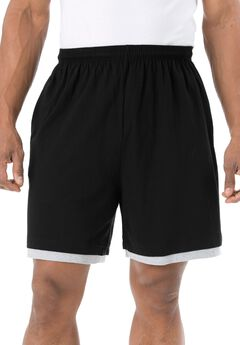 Hangdown Lightweight Shorts , BLACK, hi-res