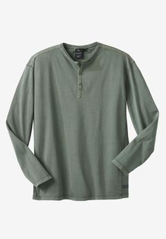 Long-Sleeve Henley by Replika®,