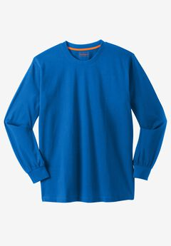 Heavyweight Long-Sleeve Pocketless Crewneck Tee by Boulder Creek®,