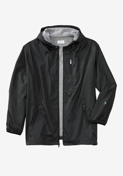 Windbreaker by KS Island™, BLACK