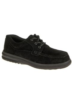 Hush Puppies Moc Toe Lace-Up Casual Shoes,