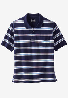 Classic Fit Stretch Polo by Liberty Blues®,