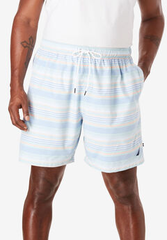 Quick Dry Striped Swim Trunk by Nautica®,