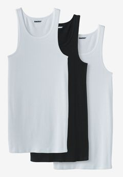 Cotton Tank Undershirt 3-Pack,