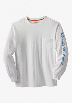 Off-Shore Long-Sleeve Screenprint Tee by Boulder Creek®,