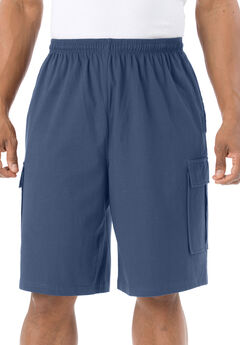 Lightweight Cargo Shorts, CROWN BLUE, hi-res