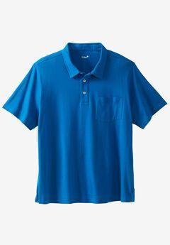 Salt Wash Polo by KS Island™, BRIGHT BLUE, hi-res