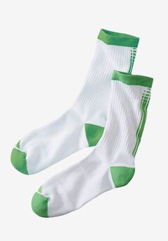Crew Sock 2-Pack by KS Sport™,