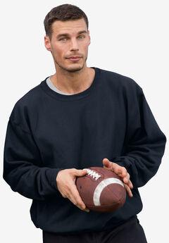 Reverse Weave Crewneck Sweatshirt by Champion®, NAVY, hi-res
