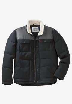 Woodsman Puffer Trucker Jacket by Levis®,