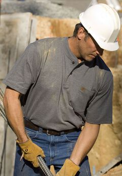 Short-Sleeve Henley Shirt by Wrangler®,