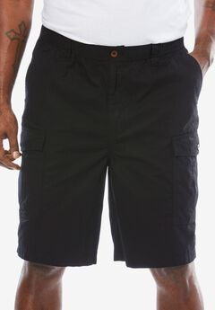 Saltwash Cargo Shorts by KS Island™, BLACK, hi-res