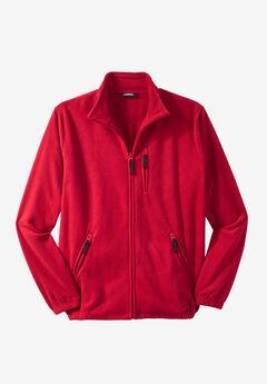 Explorer Fleece Jacket, RED