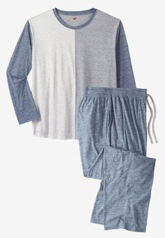 Heather Pajama Set by Hanes®,