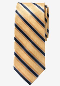 Extra Long Stripe Tie by KS Signature,
