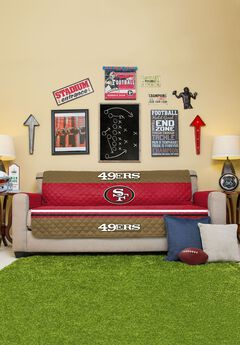 NFL® Sofa Cover, 49ERS