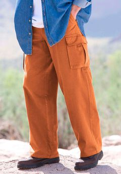 Renegade Cargo Pants with Side Elastic by Boulder Creek®,