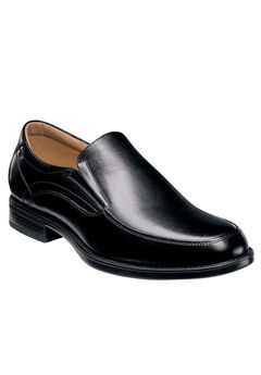 Florsheim® Midtown Black Moc Toe Slip-On, BLACK, hi-res