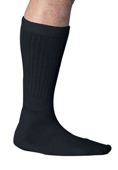Mega Stretch Wicking Socks, BLACK, hi-res