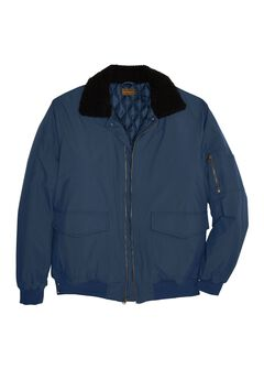 Aviator Bomber Jacket by Boulder Creek®,