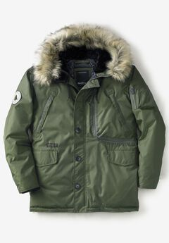 Hooded Parka by North 56°4®, OLIVE GREEN
