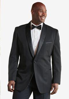 Tuxedo Jacket by KS Signature, BLACK