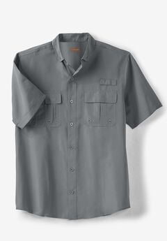 Off-Shore Short-Sleeve Sport Shirt by Boulder Creek®,