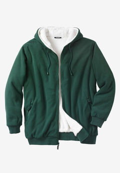 Explorer Fleece Full-Zip Hoodie, HUNTER